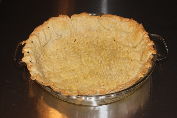 cooked pie crust