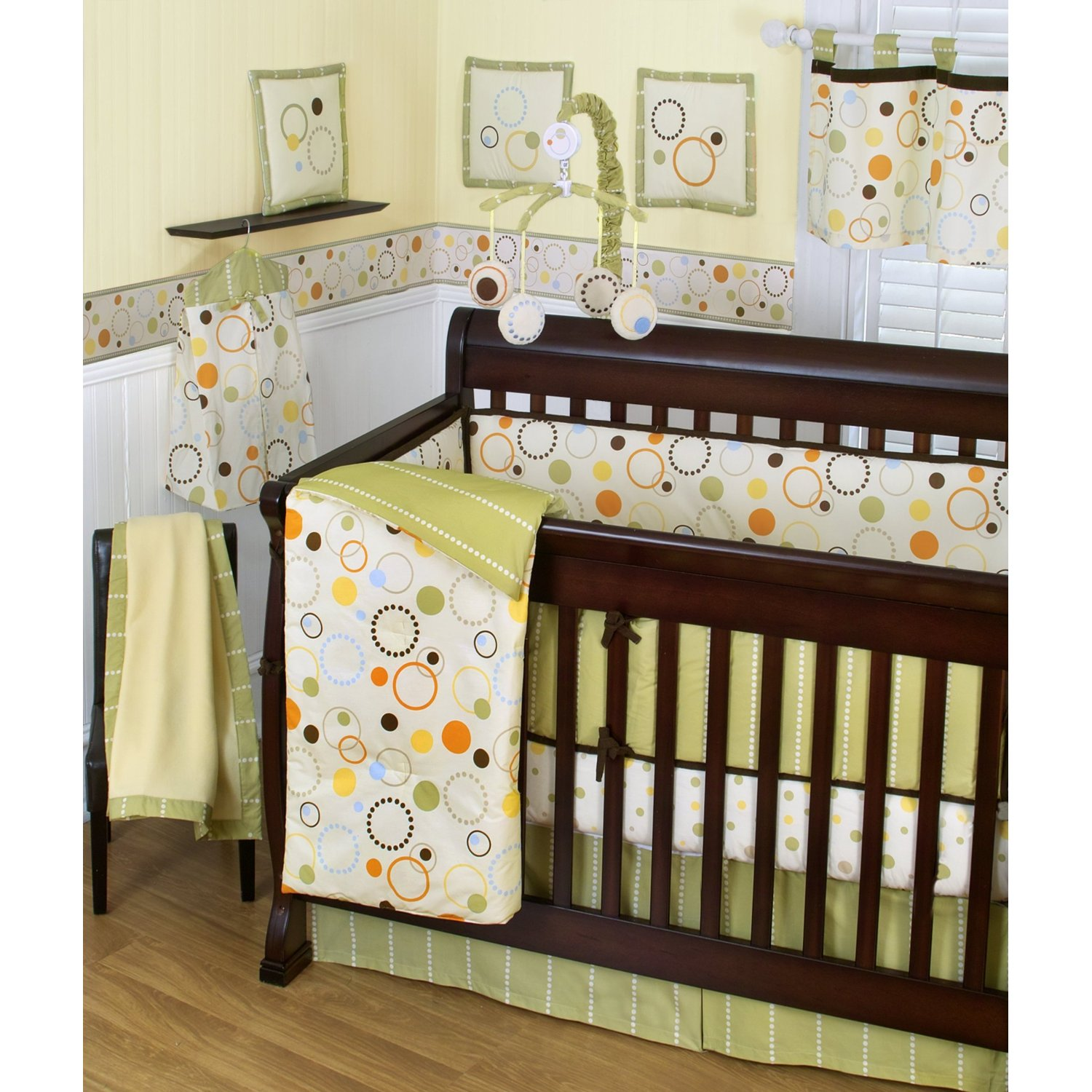 10 Gender Neutral Nursery Decorating Ideas: Crib Bedding Trend, Gender Neutral Crib Bedding A Guide