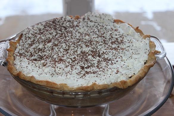 heavenly chocolate cream pie