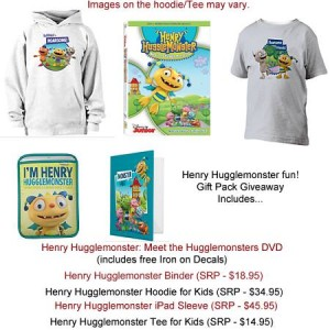 henry hugglemonster giveaway