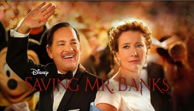 Mr. Banks Blu Ray Review, Mary Poppins creator P.L. Travers. Starring Tom Hanks, and Emma Thompso