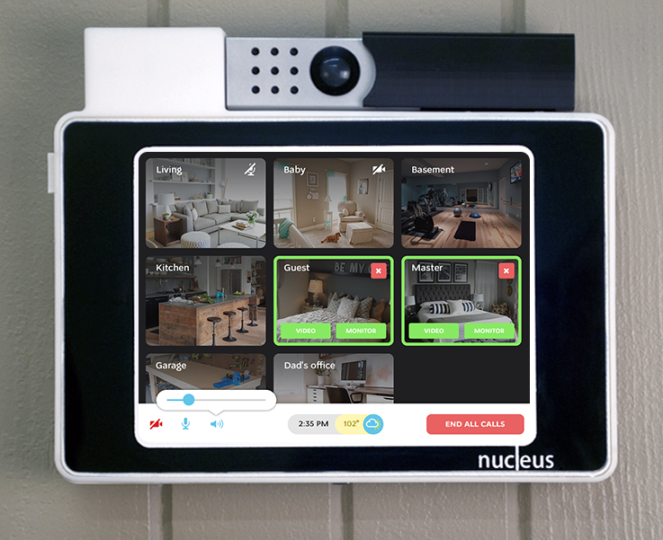 Nucleus Internet-Connected Intercom System