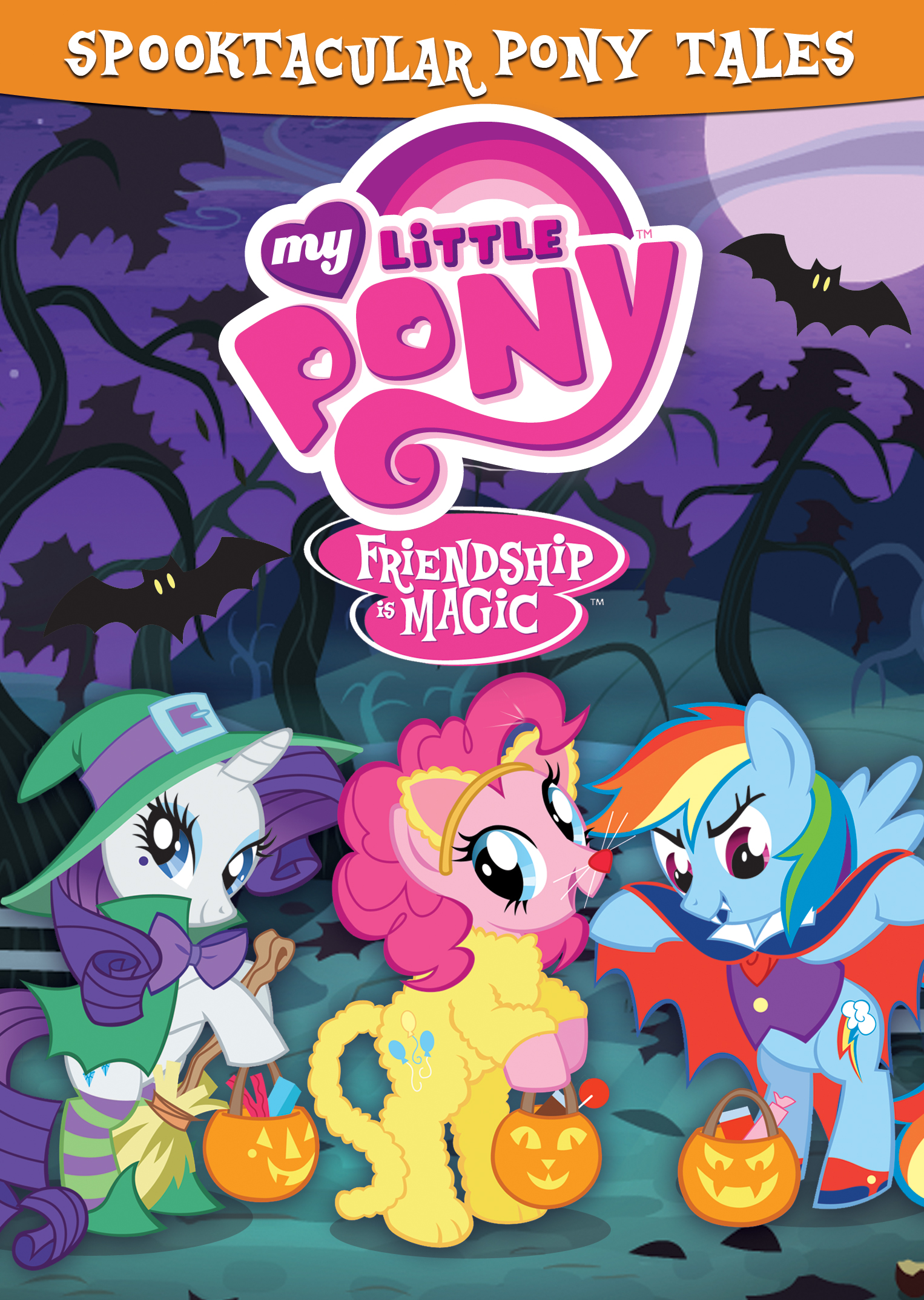 My Little Pony-Friendship is Magic: Spooktacular Pony Tales - Mom ...