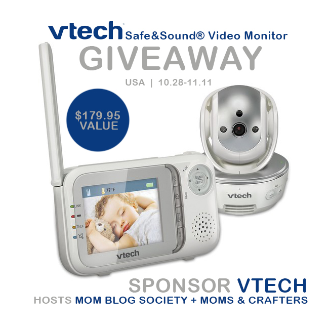 VTech® Video Baby Monitor Giveaway