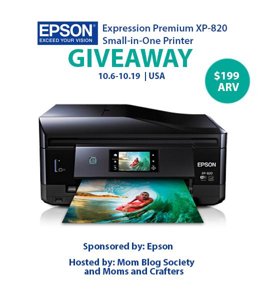 Epson Printer Giveaway
