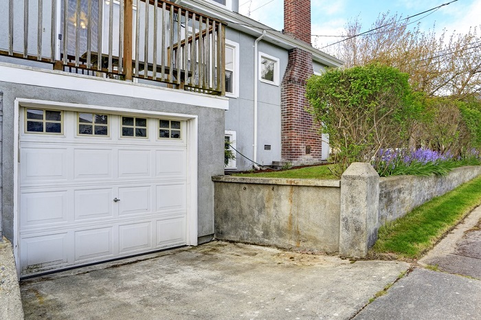 The Disadvantage Of A Rear Garage Is That A Rear Driveway Swallows Up A  Good Portion Of Your Backyard. If You Need A Lot Of Living Space, ...