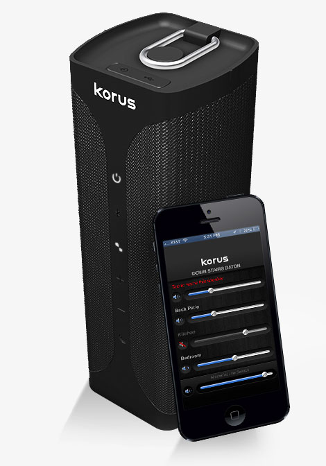 Korus for all your wireless sound needs