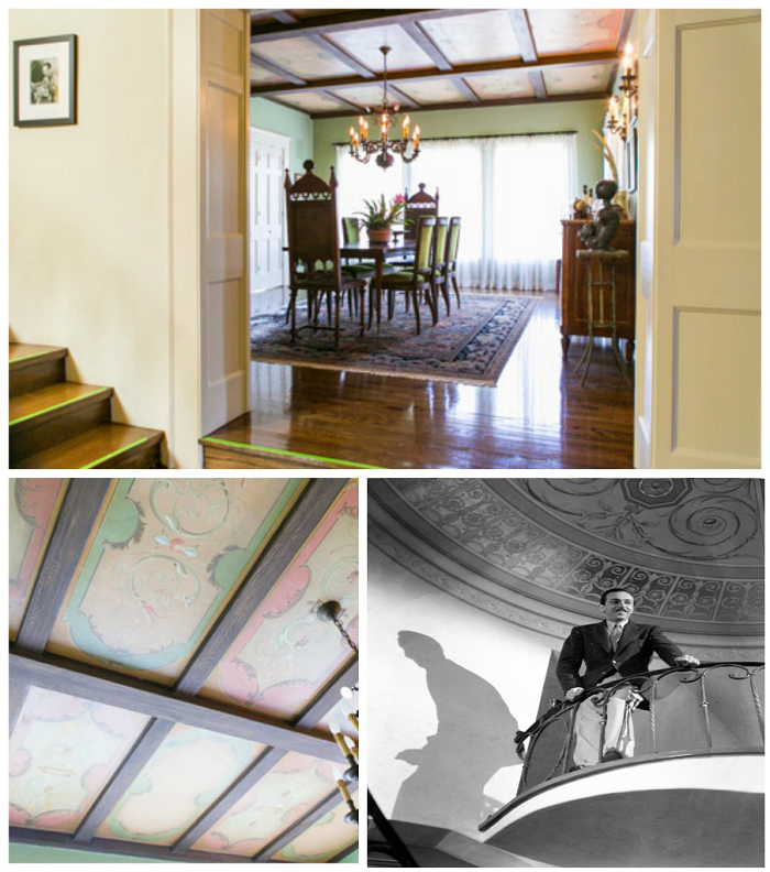 walt disney, ceiling, dining room