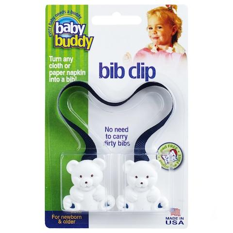 baby buddy bib clip