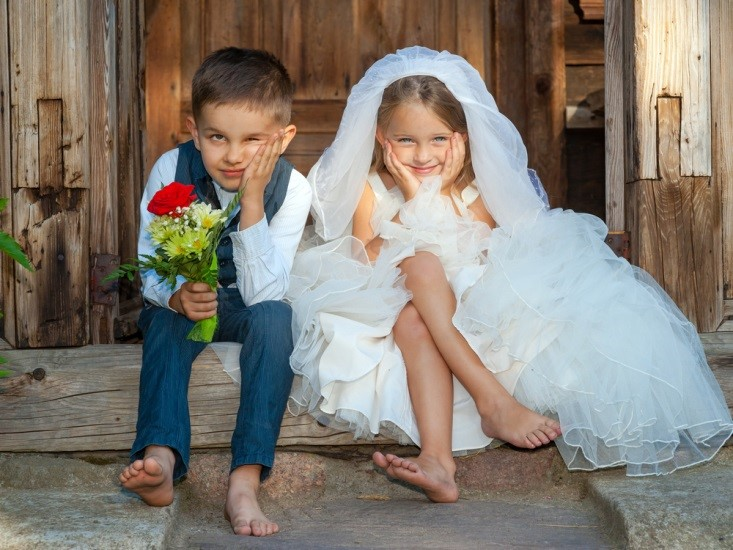 kids wedding