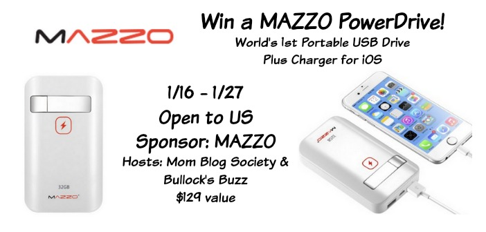 The MAZZO PowerDrive Giveaway