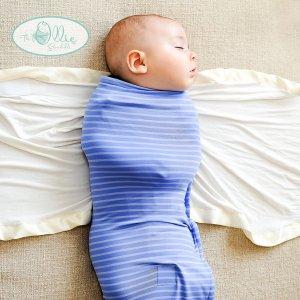 SleepingBaby1_keep_calm_and_swaddle_on_the_ollie_swaddle_world_happy_baby_parents_new_mom_dad_newborn_maternity_expecting_babybu