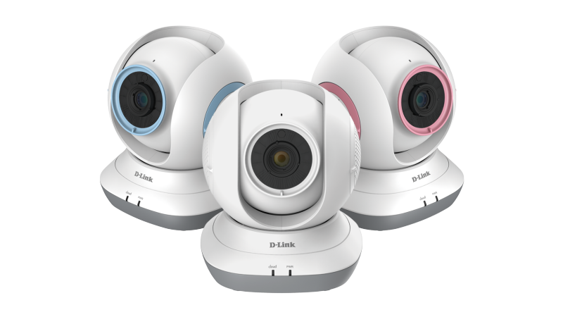 D-Link HD Pan & Tilt Wi-Fi Baby Camera