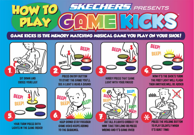 SKECHERS Game Kicks How To