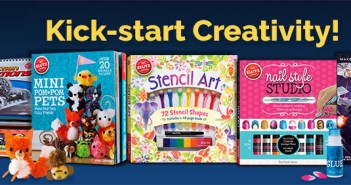 Kick Start Creativity With Klutz Activity Books