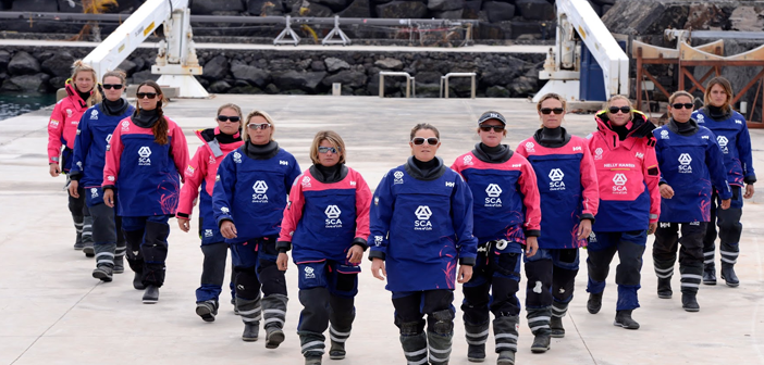 THE INSPIRATIONAL FIRST ALL-FEMALE WORLD SAILING CREW ARE HEADING TO THE USA!