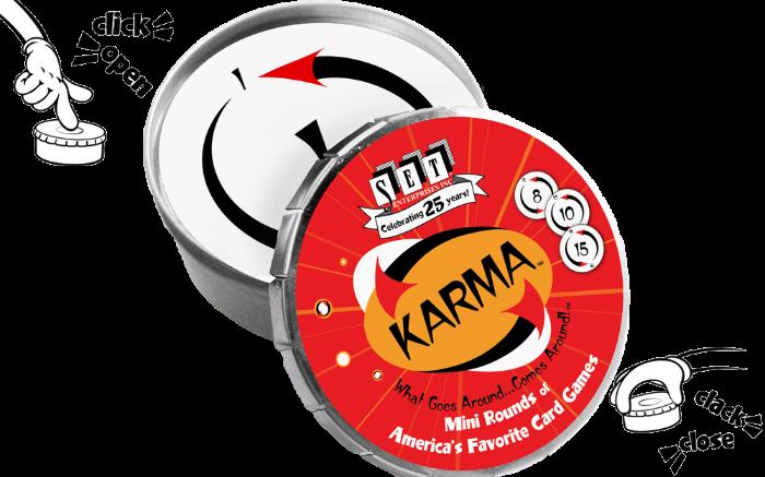 KARMA round tin
