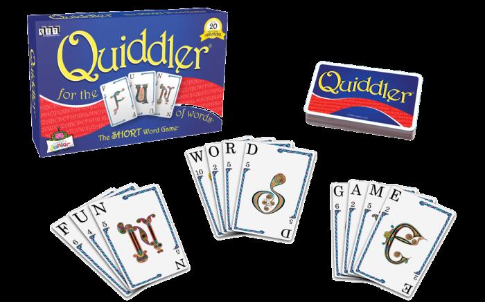Quiddler game layout