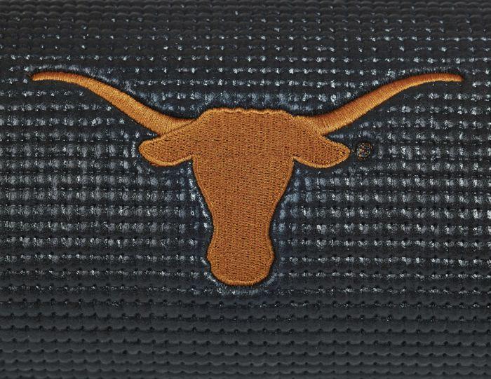 Texas logo longhorns yoga mat
