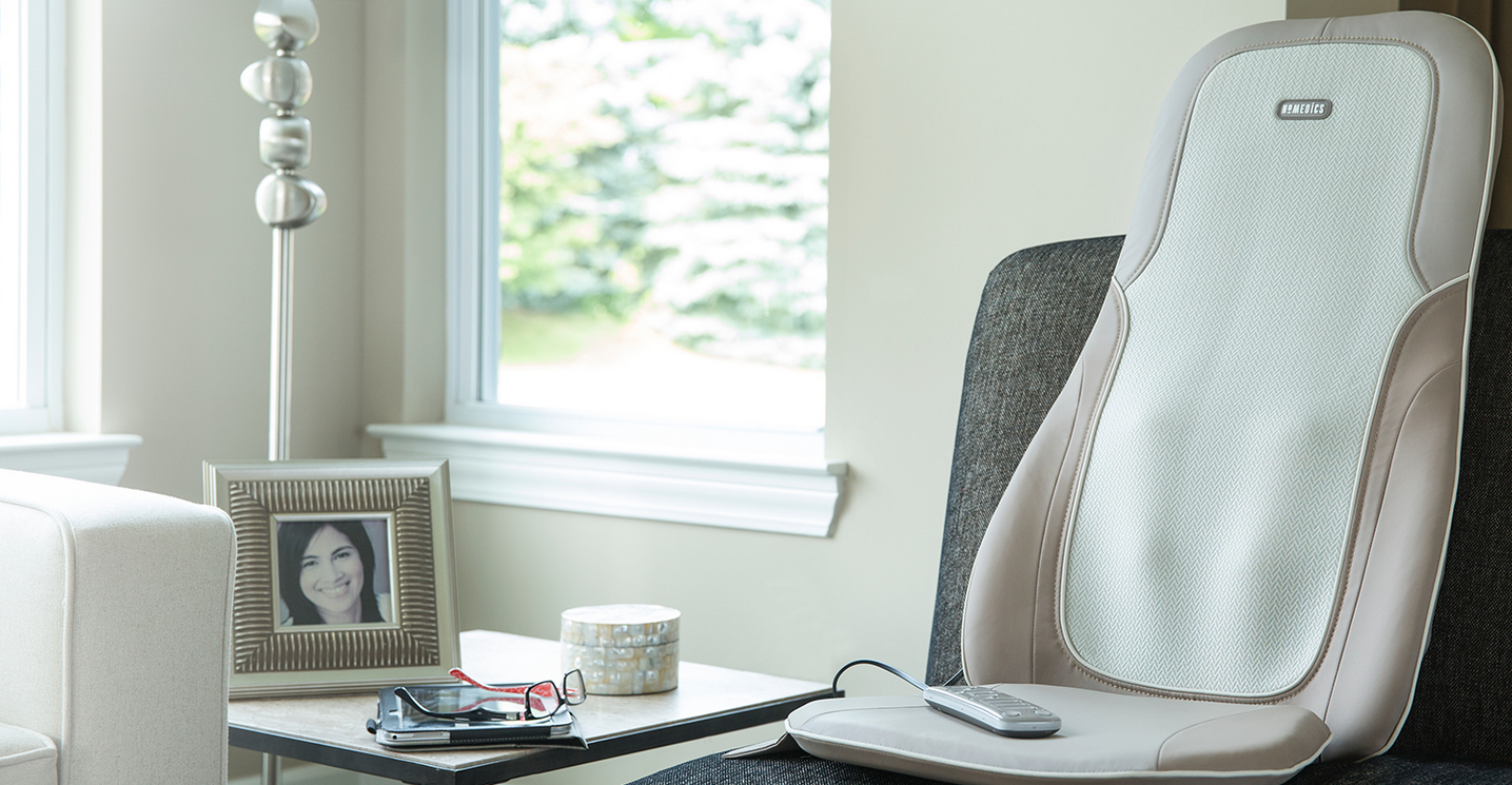 Homedics Quad Shiatsu Massage Cushion With Heat Giveaway
