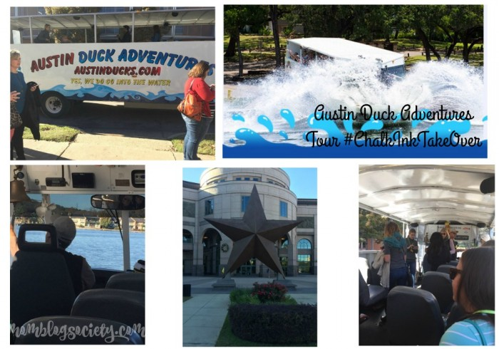 austin duck adventures collage