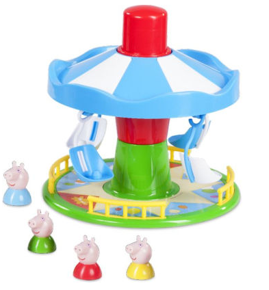 peppa merry go round game