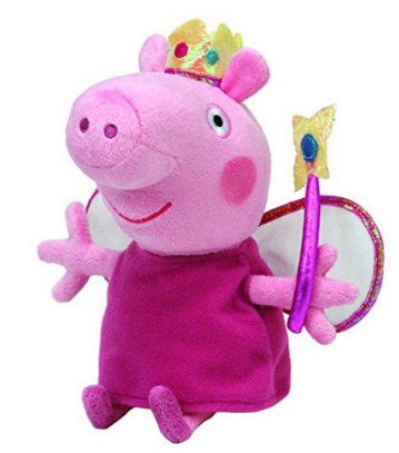 Peppa Pig Princess Plush- Ty Beanie