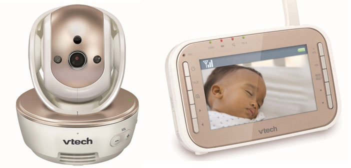 Keep baby Safe & Sound with Vtech®'s video baby monitor!