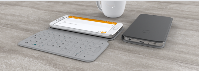 Introducing the World's Smartest NFC Smartphone Cover  with Easy-touch Integrated Keyboard: SlimTYPE
