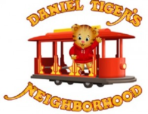 Danile Tiger and Trolley