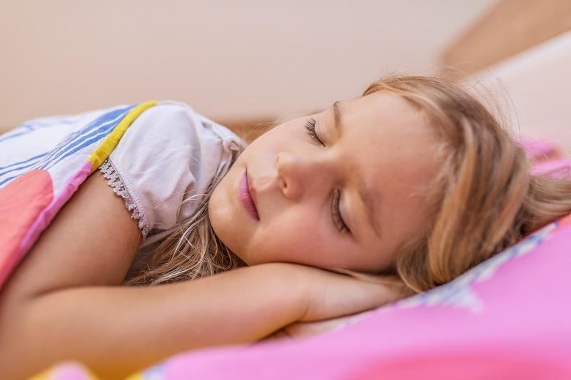 Teen sleeping nude