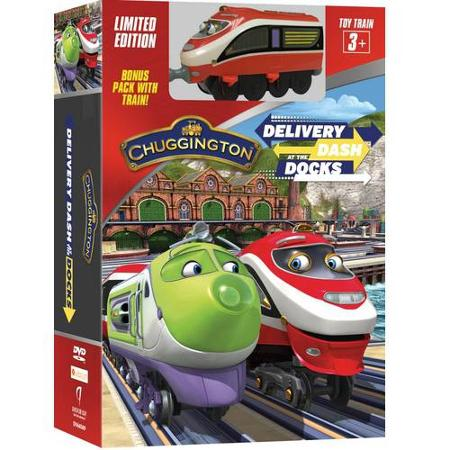 chuggington delivery at the docks