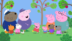 peppa pig group