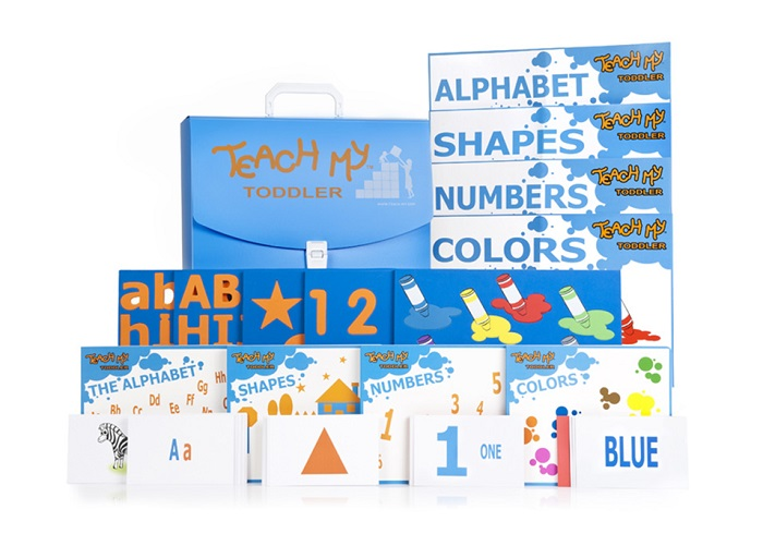 Teach My Toddler Learning Kit Deluxe Version
