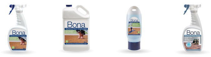 Bona Hardwood Cleaning Products