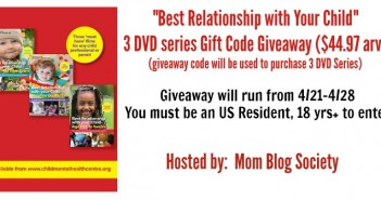 best relationship with your child giveaway