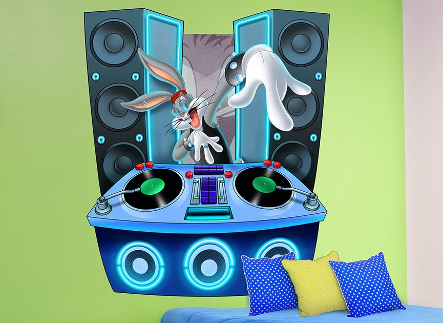 looney-tunes-dj-bugs-wall-decal-r1