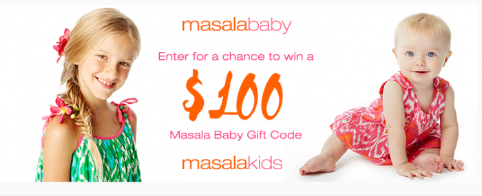100 Masala Baby Giveaway Code