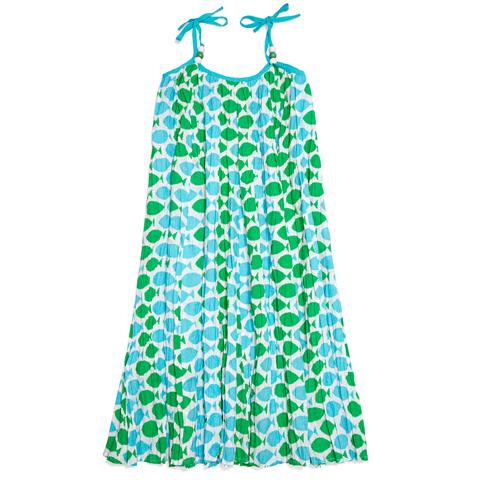 Koko Dress Joli Fish Turquoise
