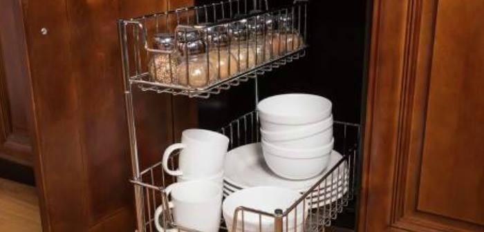 TRINITY EcoStorage™ 5 Tier Wire Shelving Rack, Keeping My Kitchen Organized.