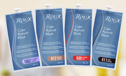 roux beauty color refresh mask
