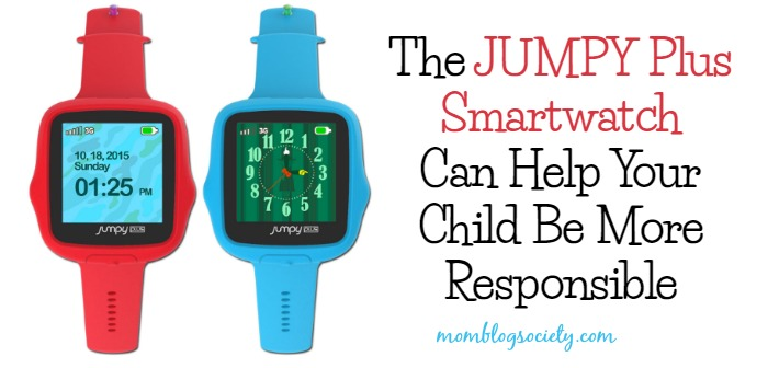 The JUMPY Plus Smartwatch Can Help Your Child Be More Responsible