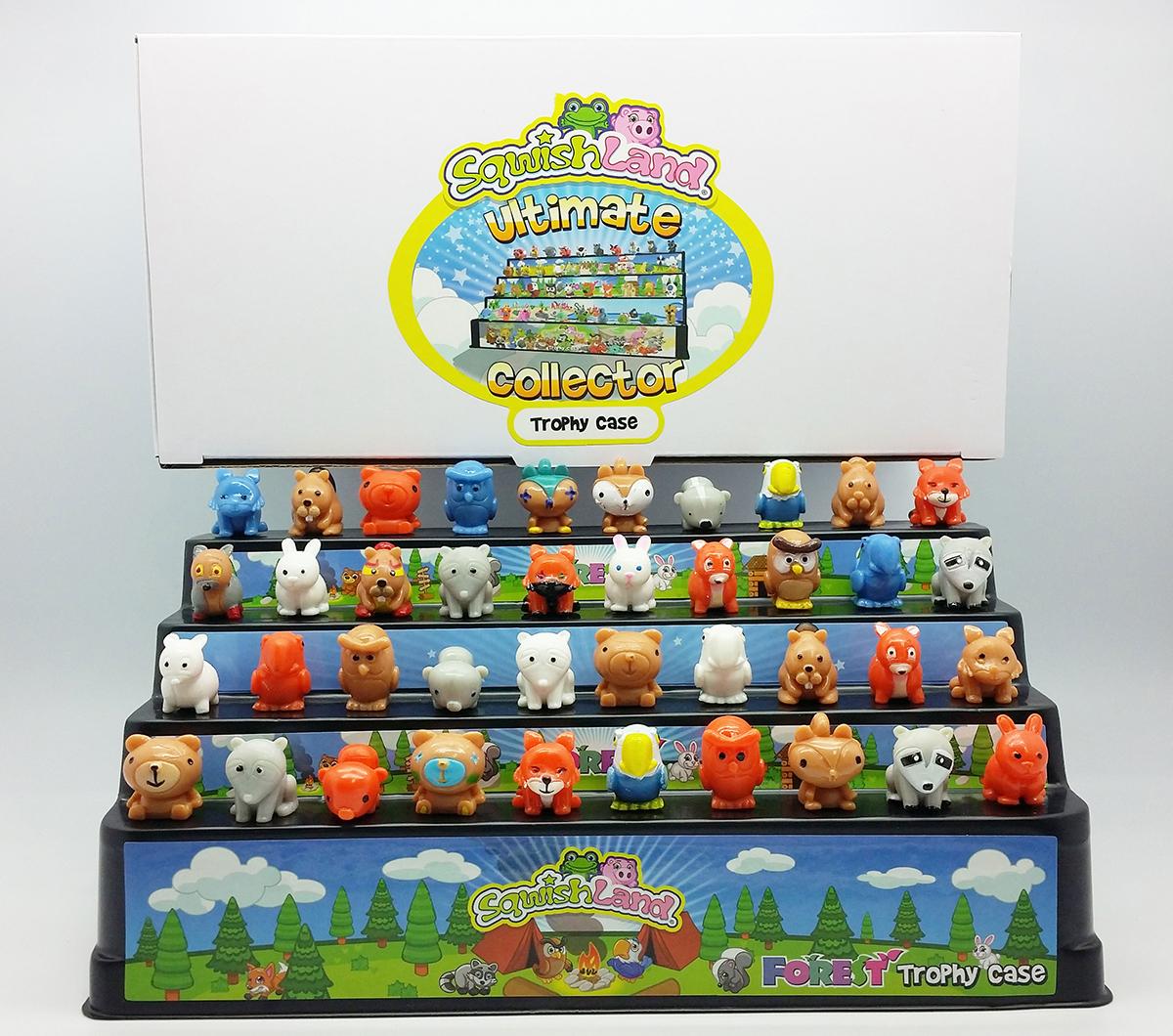 trophy-case-forest-animals
