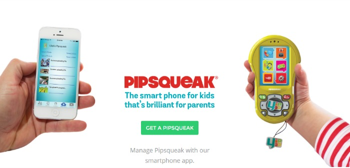 The YipYap Pipsqueak Smartphone for Kids!