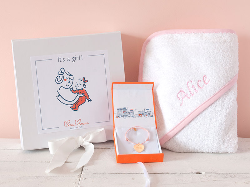 Mother And Baby Gift Box : Merci mama mommy baby box a special gift for your