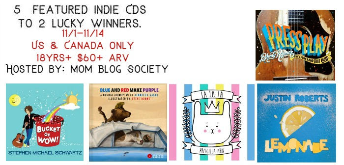 5 Featured Indie CDs 2 Winners Giveaway