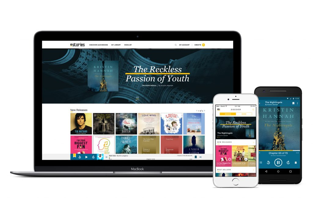 eStories: Affordable audio books on any device!