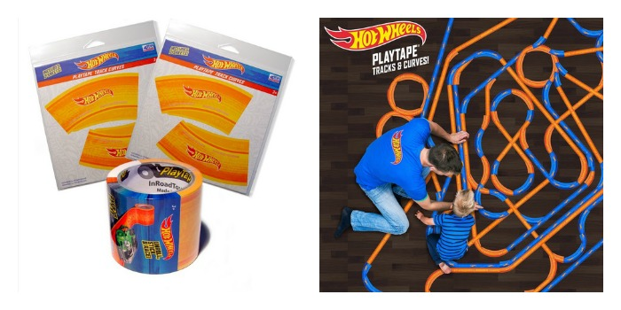 Hot Wheels® PlayTape® & Hot Wheels® PlayTape® Curves by InRoad Toys