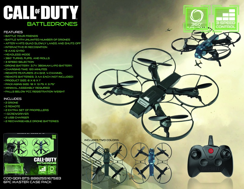 Call of Duty Dragonfly Drone