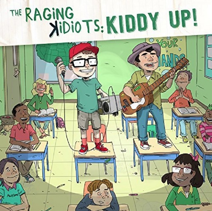 The Raging Kidiots: Kiddy Up! CD